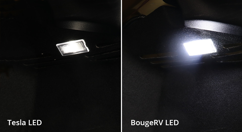 Bougerv led comparison