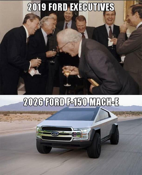 Cybertruck Meme - Ford