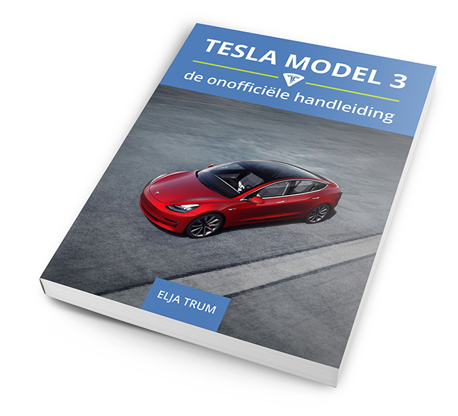 Tesla Model 3 boek (mock-up)