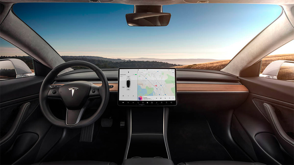 Tesla Model 3 - Interieur