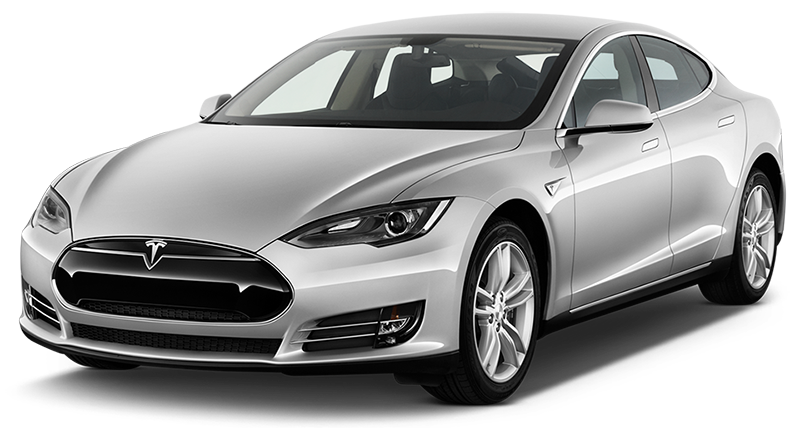 Tesla model s old grey