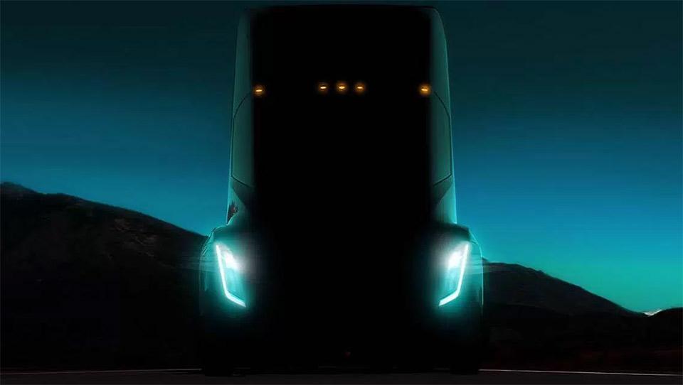 Tesla Semi (teaser)