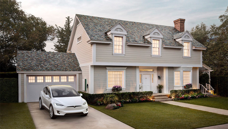 Tesla Solar Roof en Power Wall