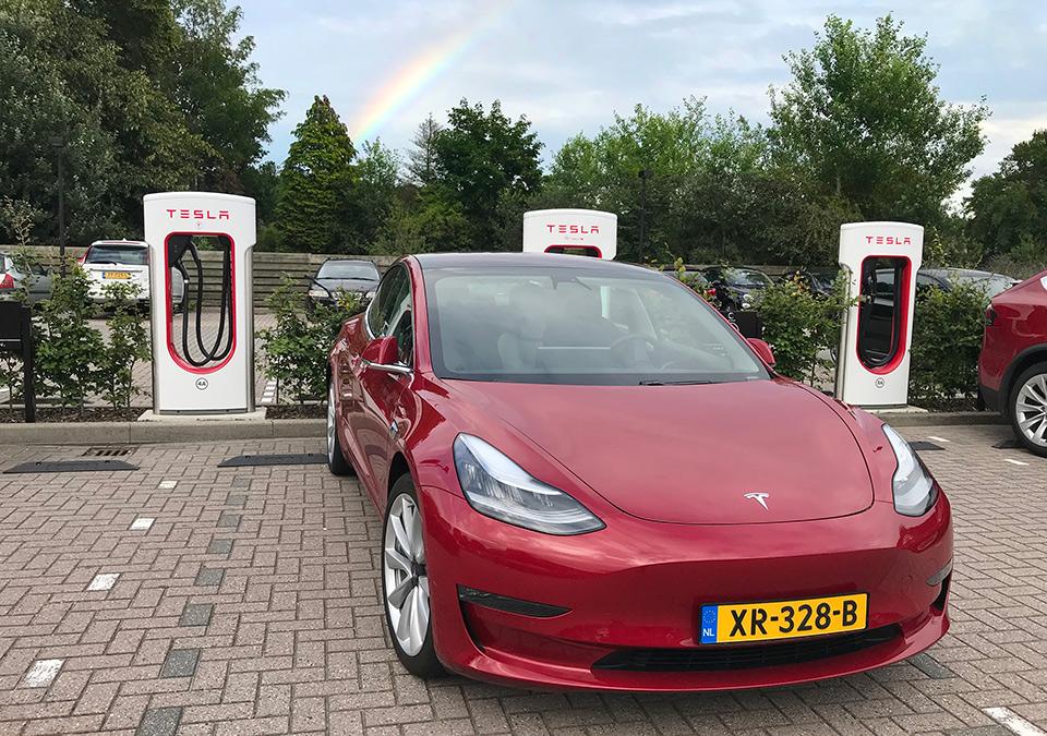 Tesla Supercharger Apeldoorn