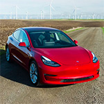 Tesla Model 3 review door Road Show