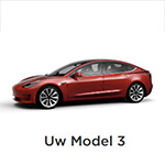 Tesla Model 3 besteld!